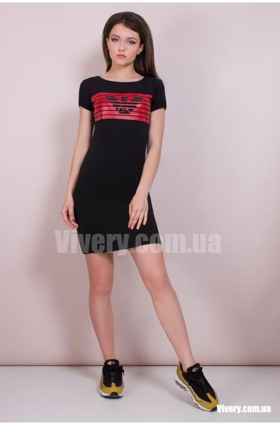 Платье Armani черное